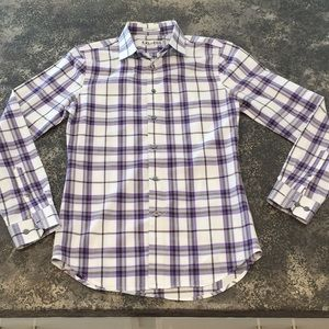 EXPRESS slim fit button up shirt XS 13-13""